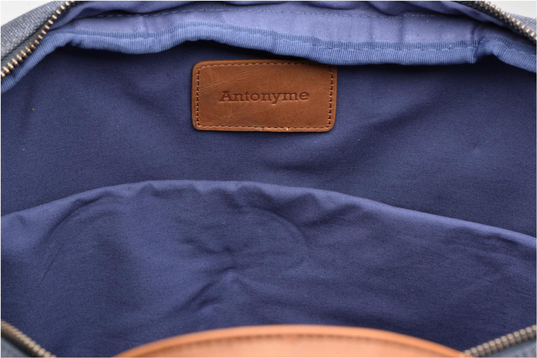 Herentassen Antonyme by Nat & Nin Emile Blauw achterkant