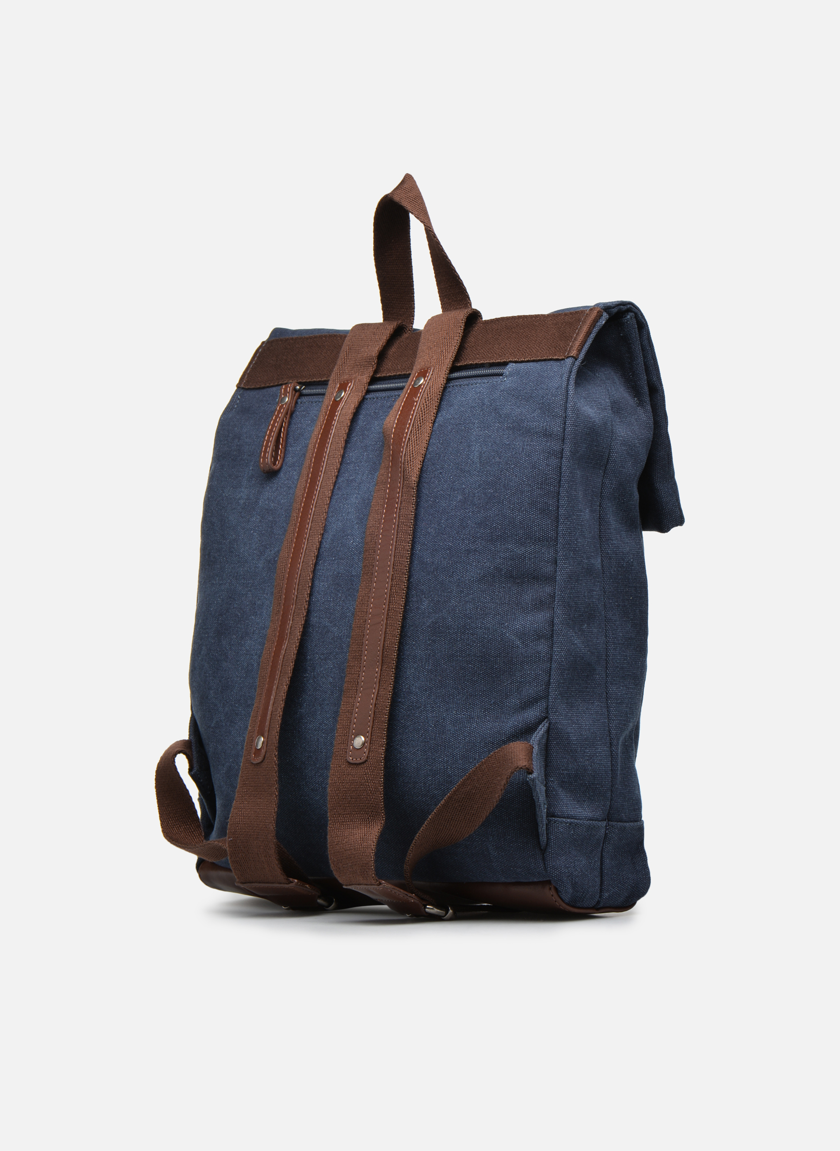 Rucksacks Antonyme by Nat & Nin Ethan Blue view from the right