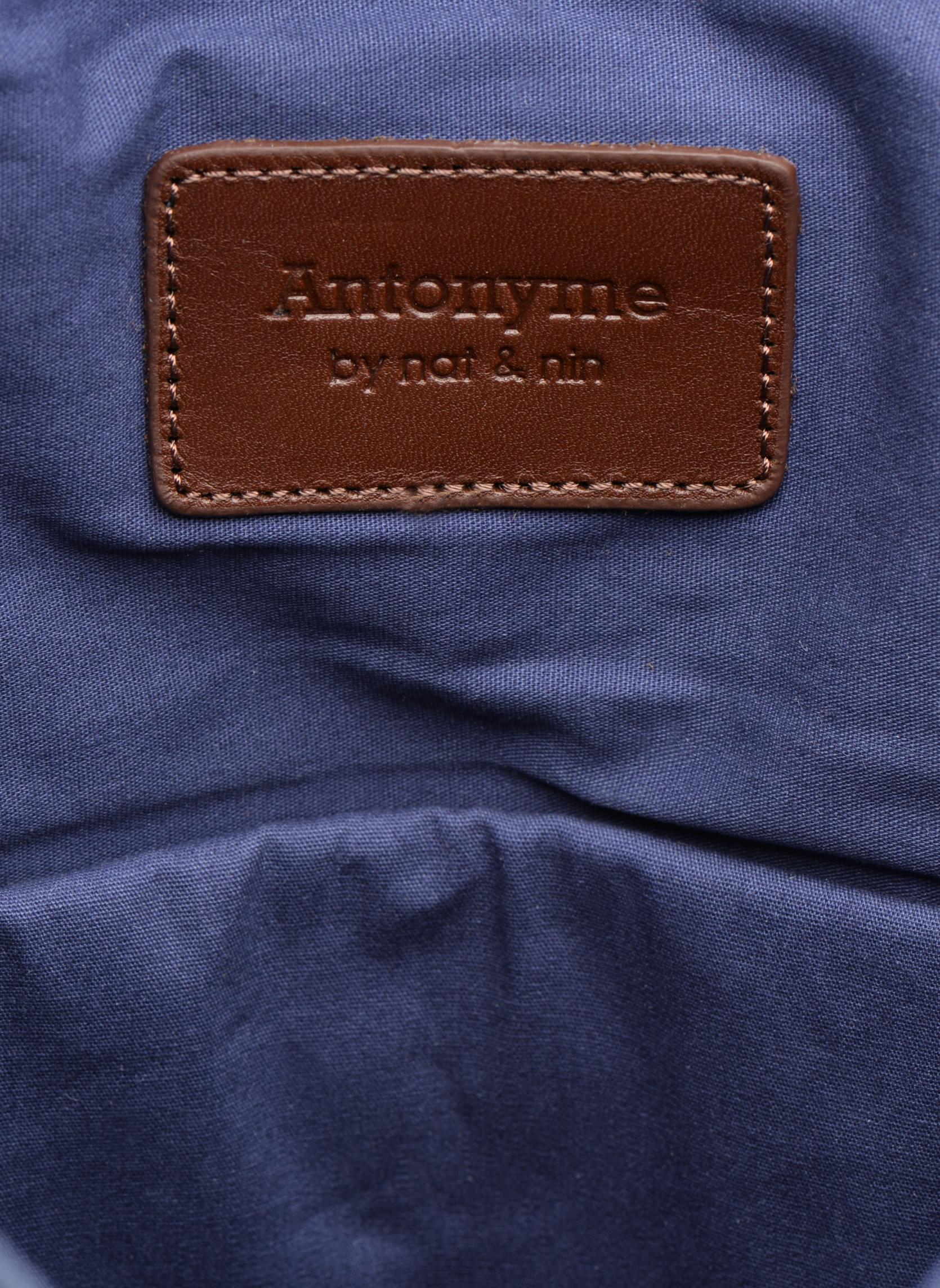 Rucksäcke Antonyme by Nat & Nin Ethan blau ansicht von hinten