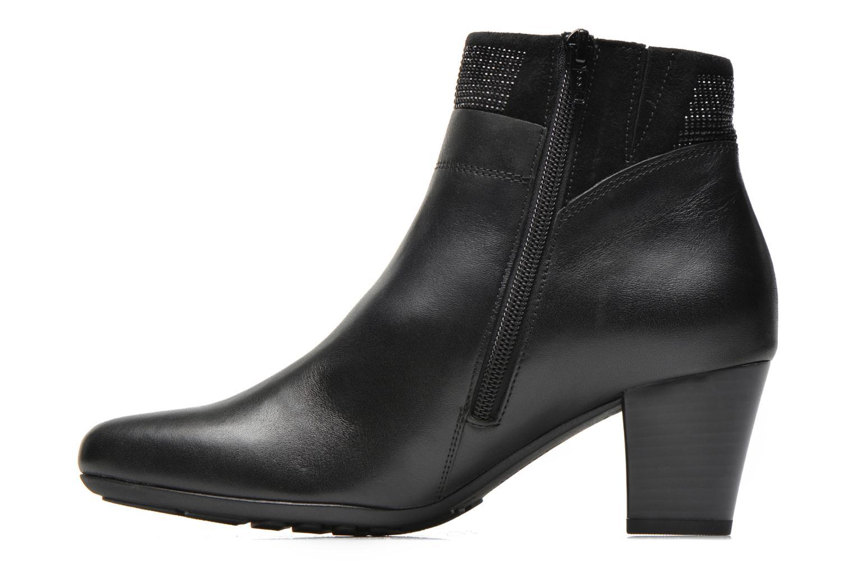 Bottines et boots Gabor Norma Noir vue face