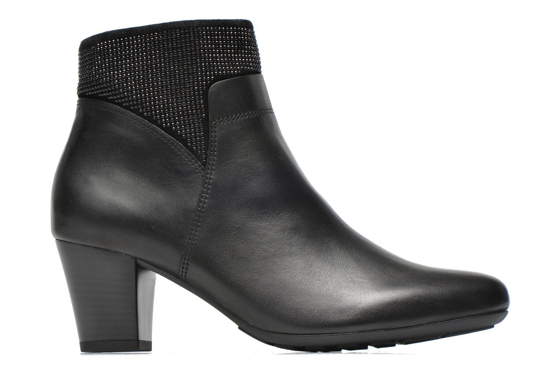 Bottines et boots Gabor Norma Noir vue derrière
