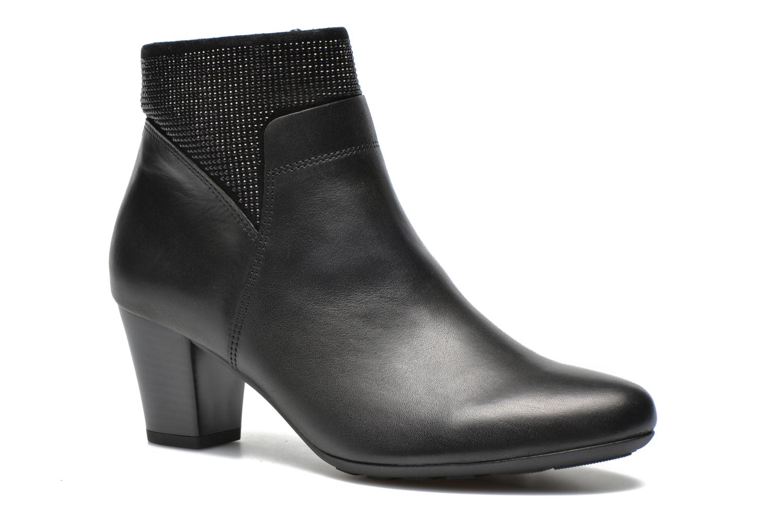 Boots en enkellaarsjes Gabor Norma Zwart detail