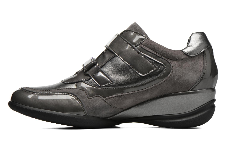 Sneaker Geox D PERSEFONE A D540RA grau ansicht von vorne
