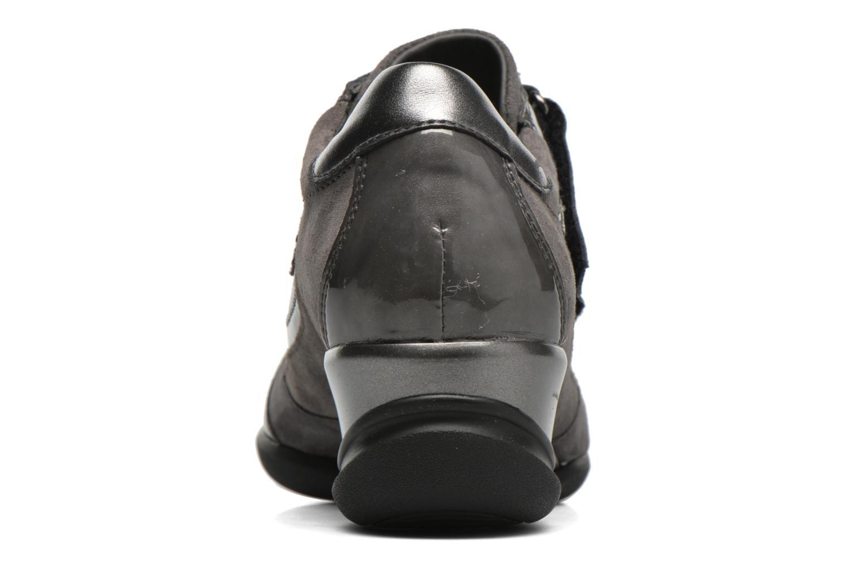 Sneaker Geox D PERSEFONE A D540RA grau ansicht von rechts