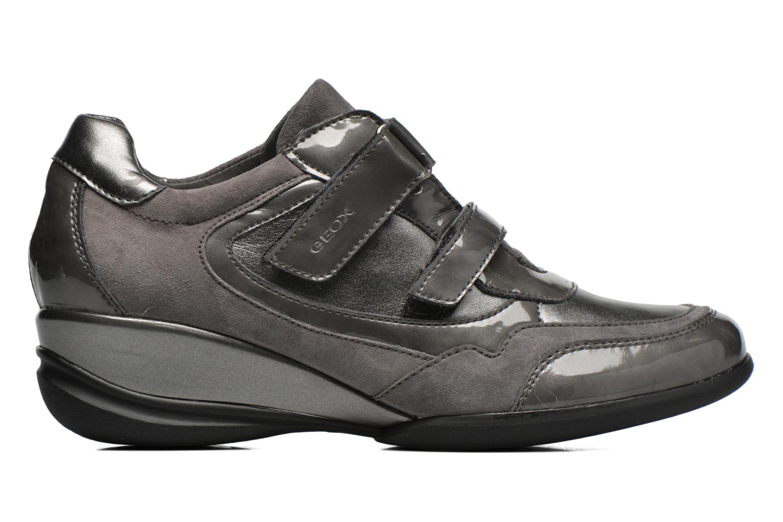 Sneaker Geox D PERSEFONE A D540RA grau ansicht von hinten