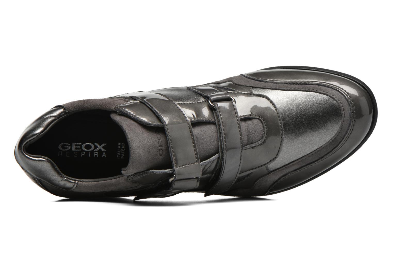 Sneaker Geox D PERSEFONE A D540RA grau ansicht von links