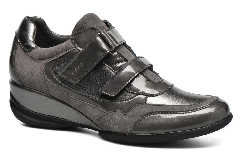 Sneaker Geox D PERSEFONE A D540RA grau detaillierte ansicht/modell