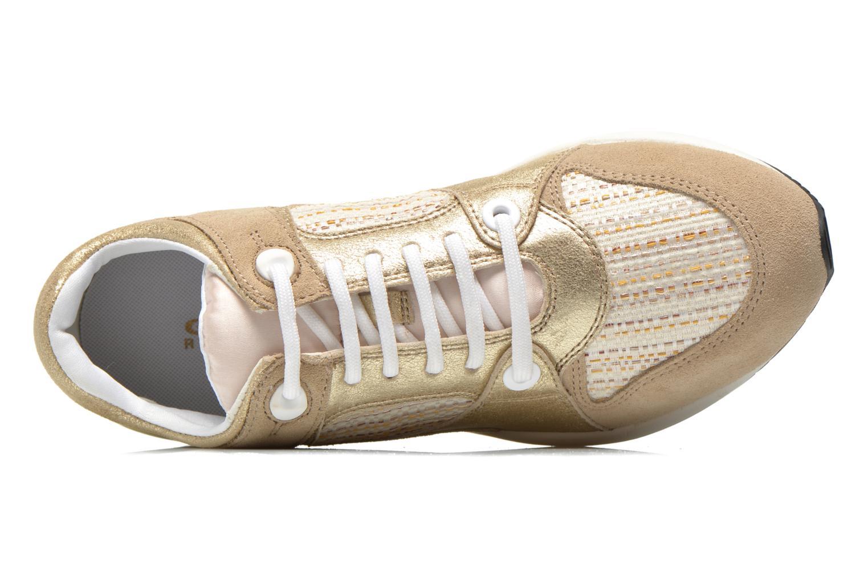 Sneaker Geox D OMAYA A D540SA gold/bronze ansicht von links