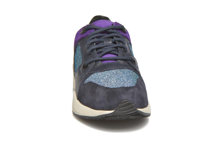 Sneaker Geox D OMAYA A D540SA blau schuhe getragen