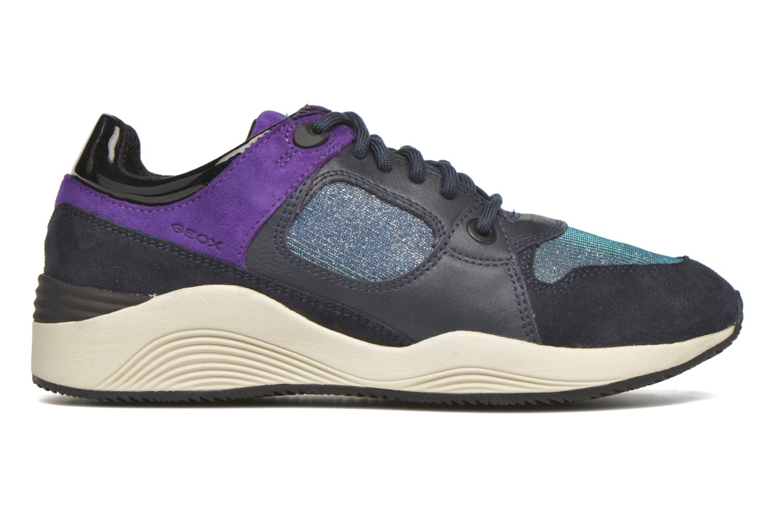 Sneakers Geox D OMAYA A D540SA Blauw achterkant