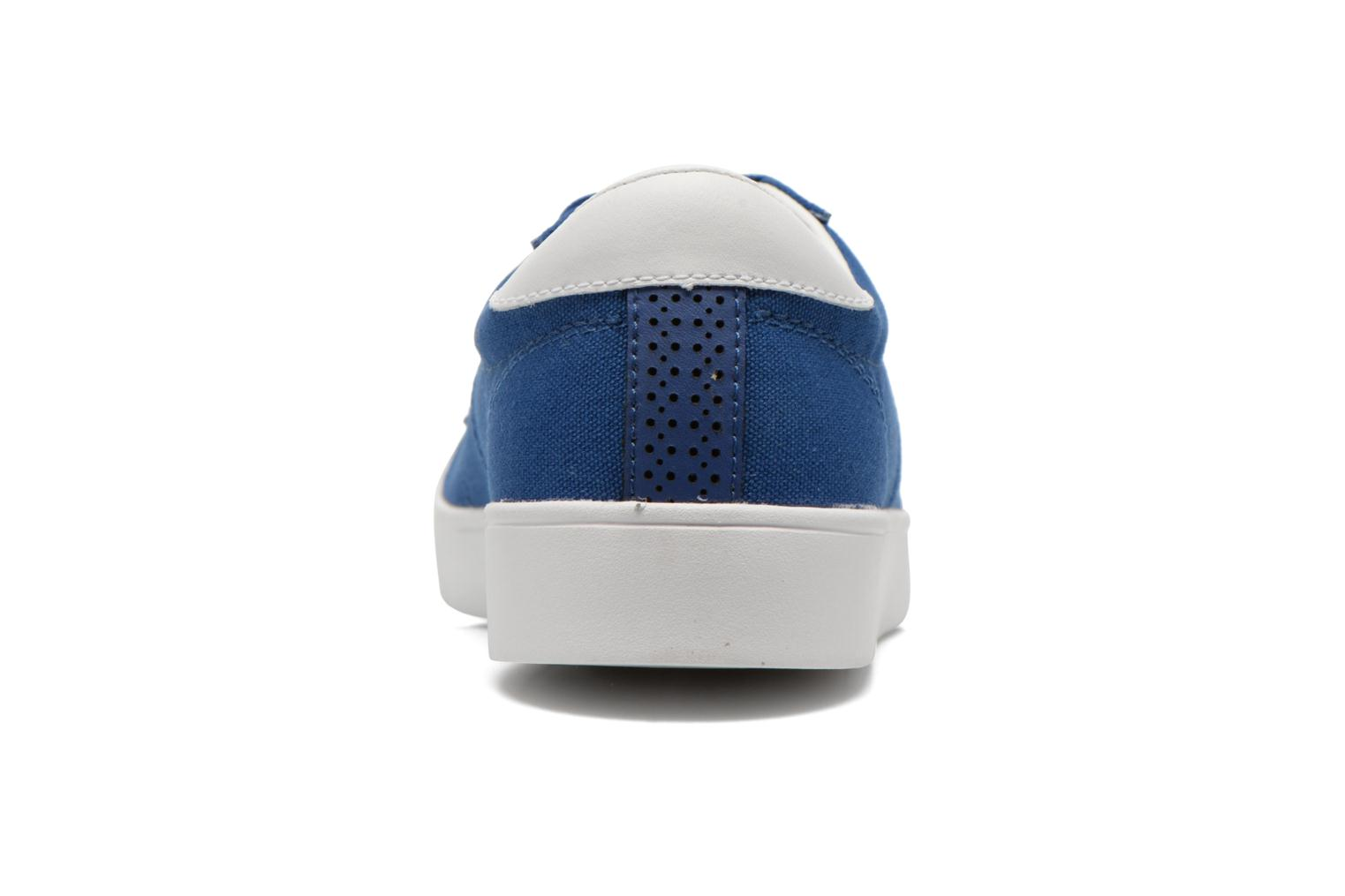 Baskets Fred Perry Spencer Canvas Bleu vue droite