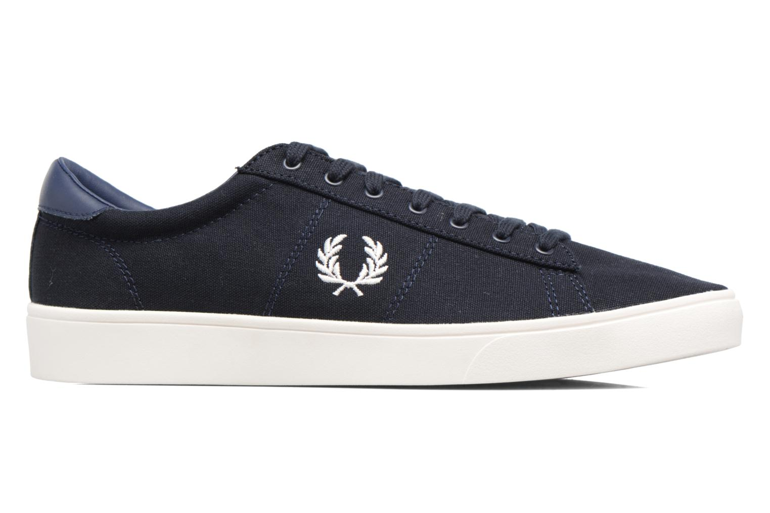 Baskets Fred Perry Spencer Canvas Bleu vue derrière