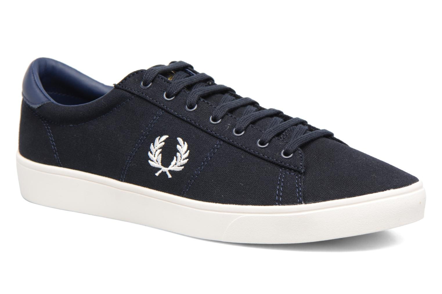 Baskets Fred Perry Spencer Canvas Bleu vue détail/paire