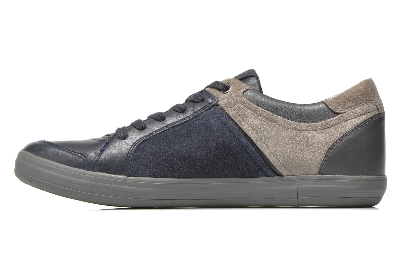 Sneakers Geox U BOX D U54R3D Blauw voorkant