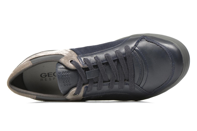 Sneakers Geox U BOX D U54R3D Blauw links