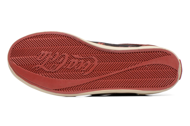 Baskets Coca-cola shoes Montreal low print Bordeaux vue haut