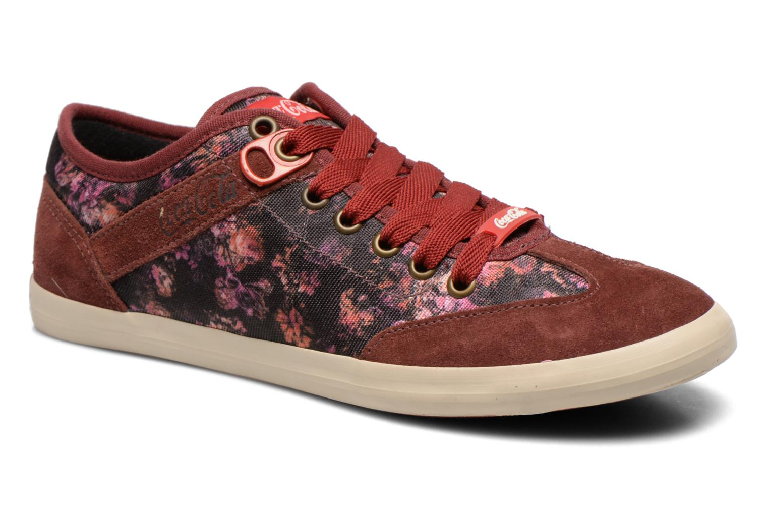 Sneaker Coca-cola shoes Montreal low print weinrot detaillierte ansicht/modell
