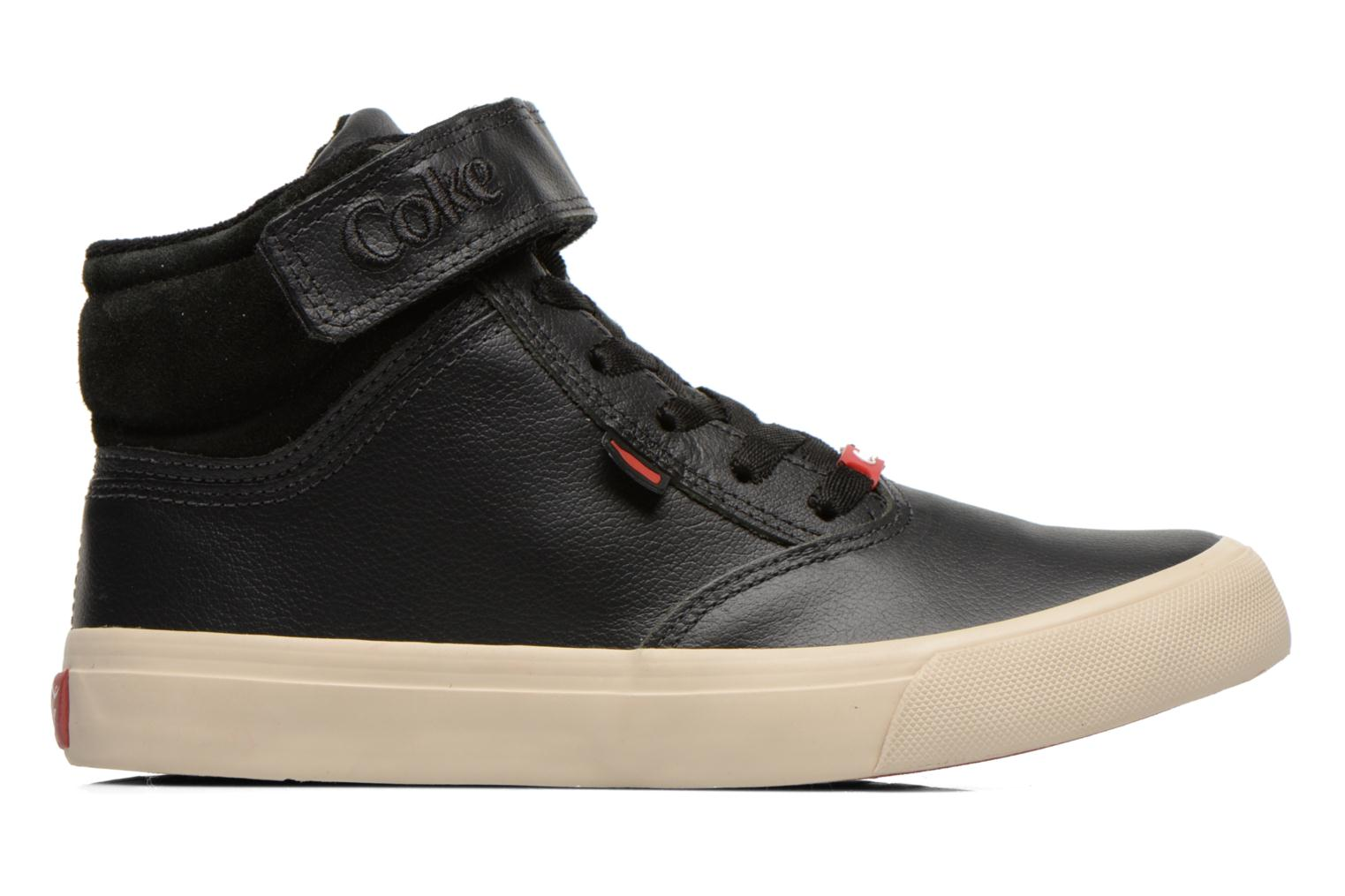 Trainers Coca-cola shoes Mika leather Black back view
