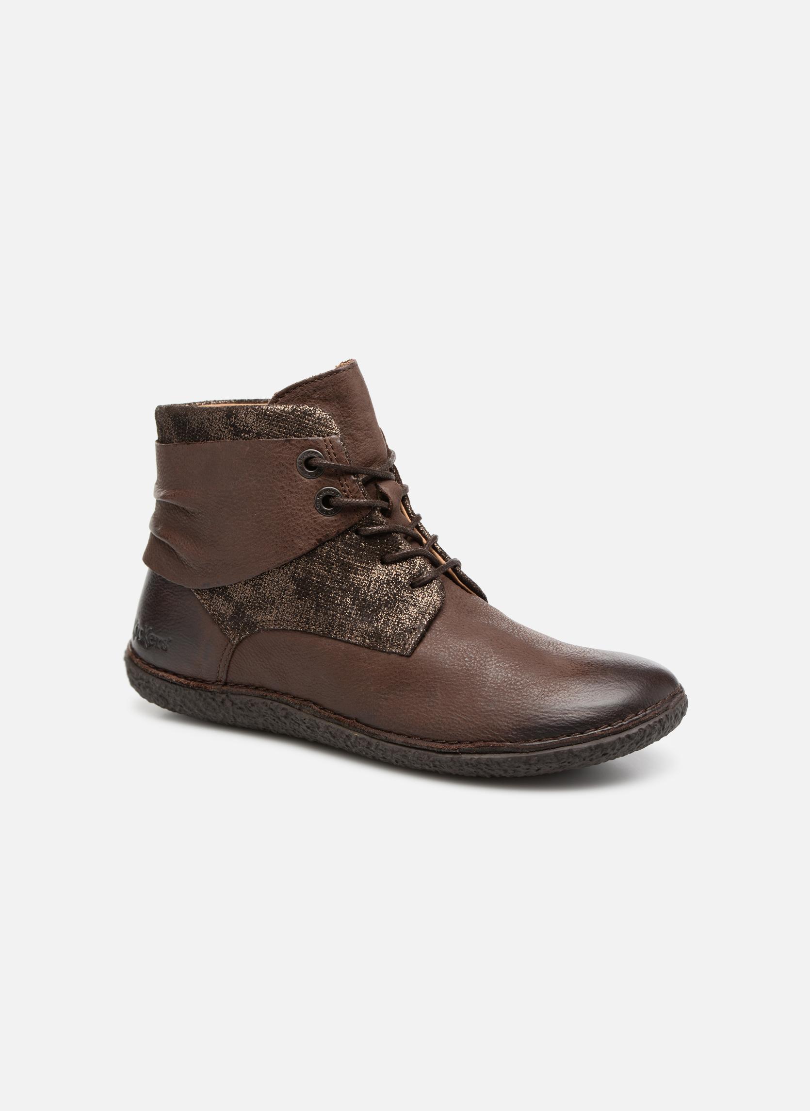 Grandes descuentos últimos zapatos Kickers HOBYLOW (Marrón) - Botines  Descuento