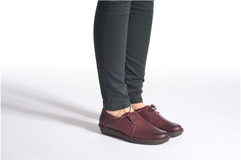 Zapatos con cordones Kickers CRUZ Negro vista de abajo