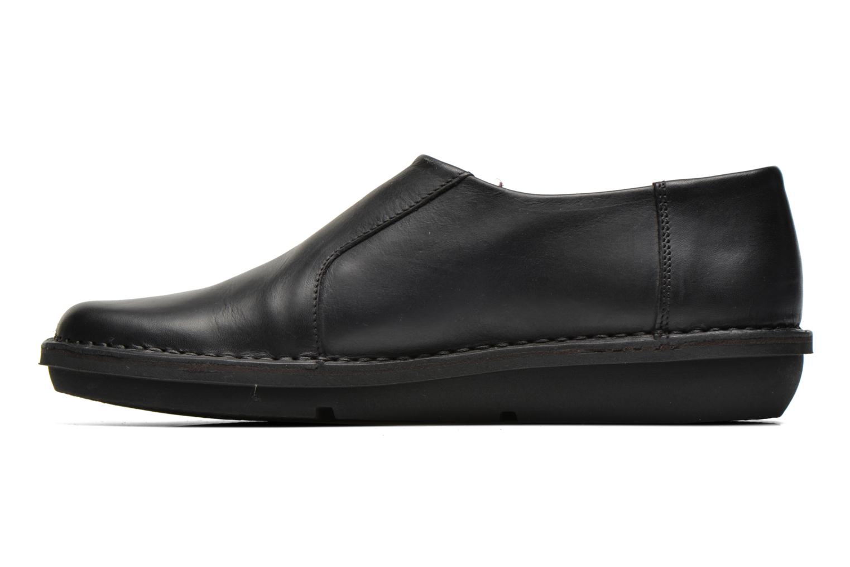 Zapatos con cordones Kickers CRUZ Negro vista de frente