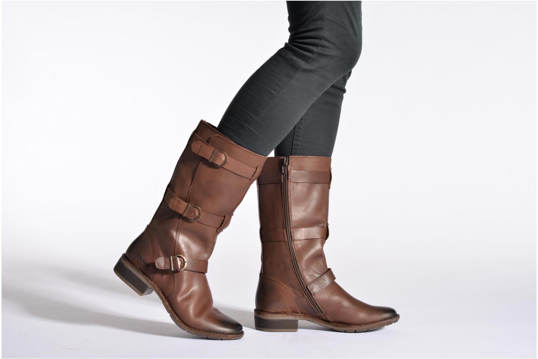 Bottines et boots Kickers Growup Noir vue bas / vue portée sac