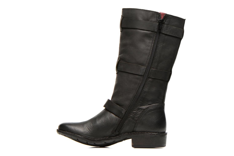 Bottines et boots Kickers Growup Noir vue face