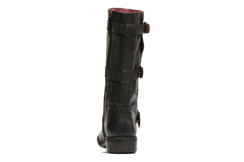Bottines et boots Kickers Growup Noir vue droite
