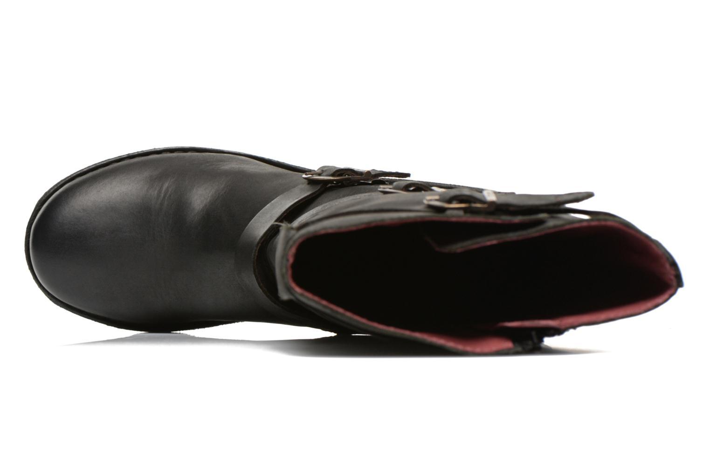 Botines  Kickers Growup Negro vista lateral izquierda