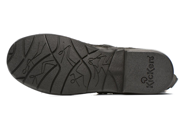 Bottines et boots Kickers Growup Noir vue haut