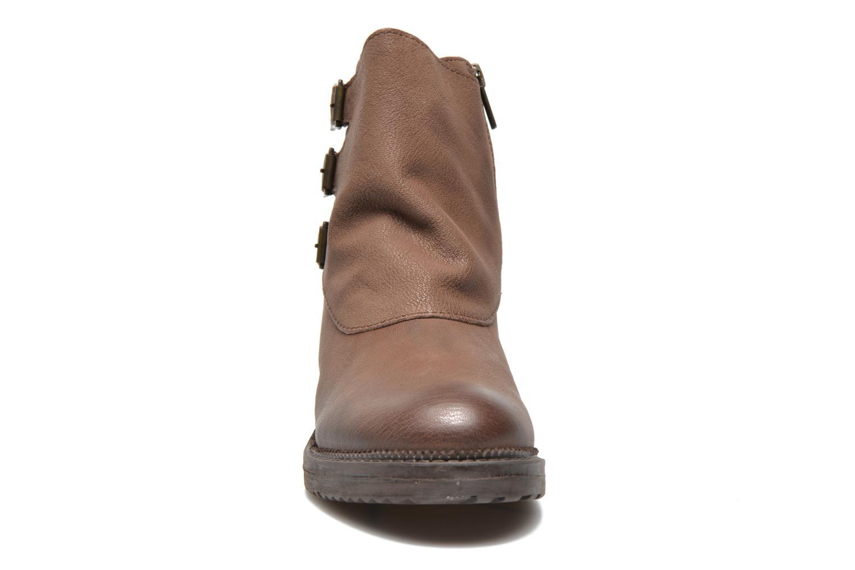 Bottines et boots Kickers Rouille Marron vue portées chaussures