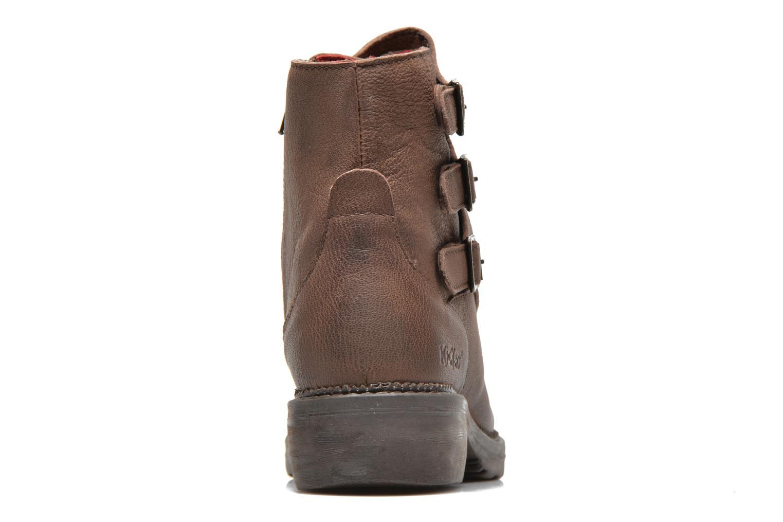 Bottines et boots Kickers Rouille Marron vue droite