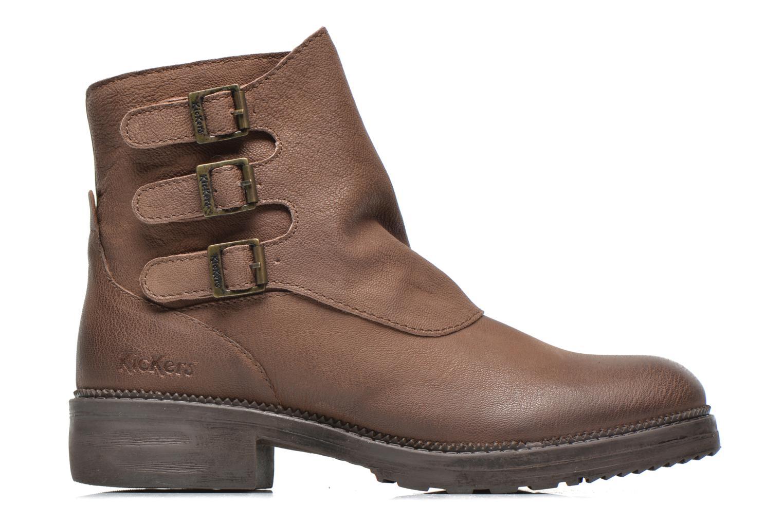 Stiefeletten & Boots Kickers Rouille braun ansicht von hinten