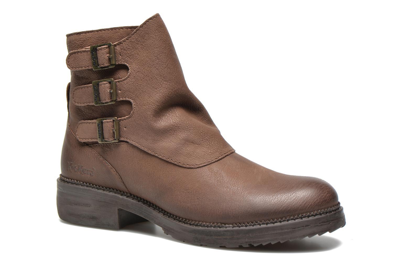 Stiefeletten & Boots Kickers Rouille braun detaillierte ansicht/modell