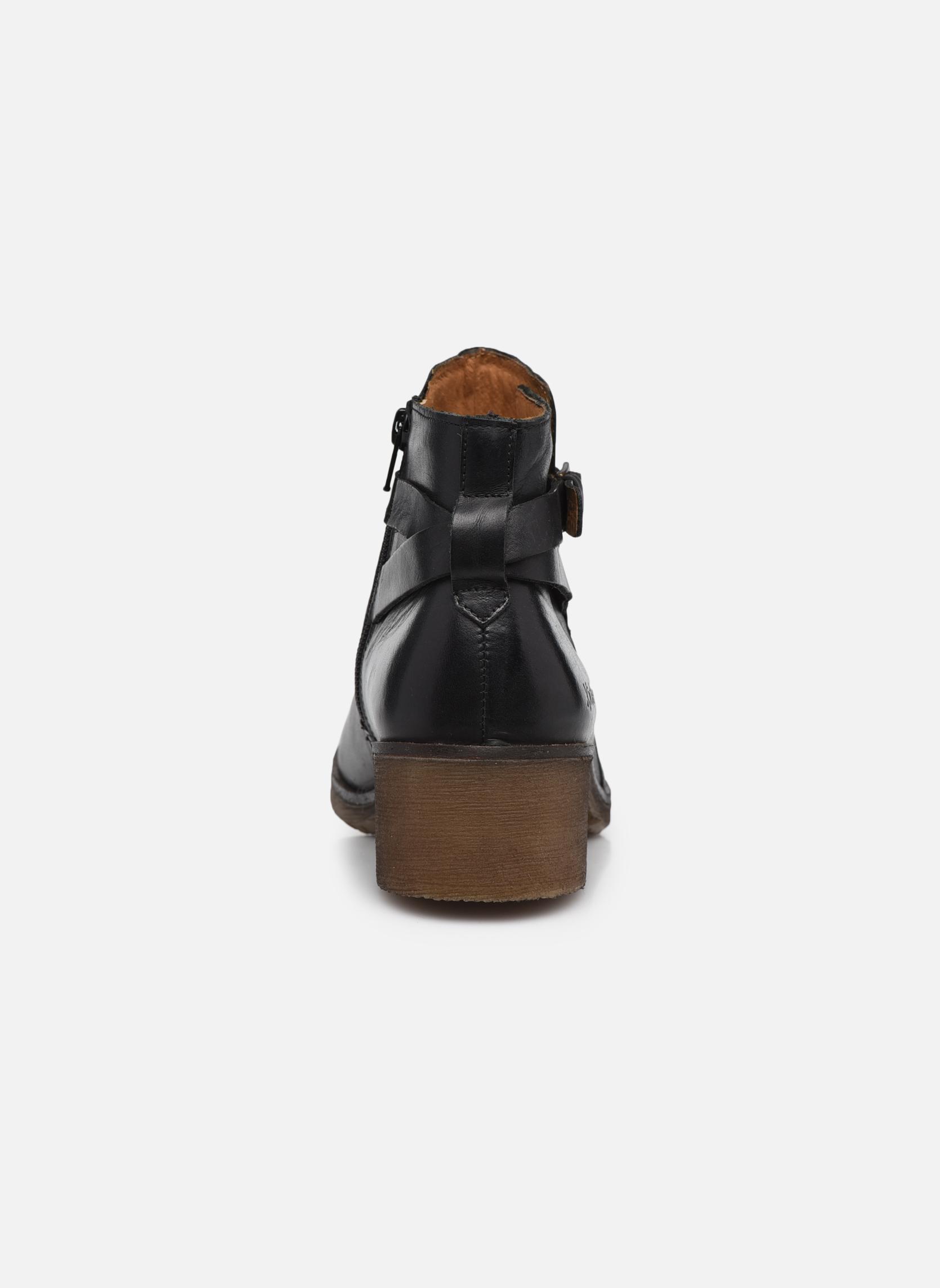 Bottines et boots Kickers Mila Noir vue droite