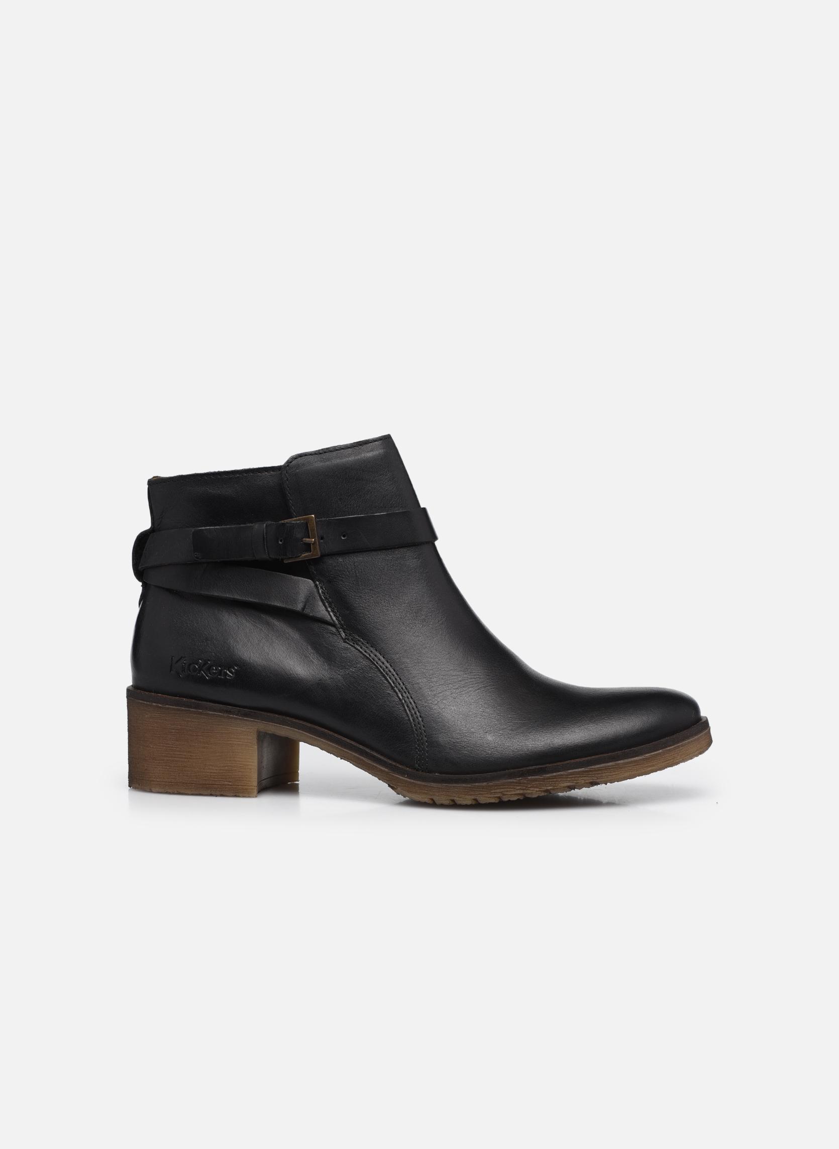 Bottines et boots Kickers Mila Noir vue derrière