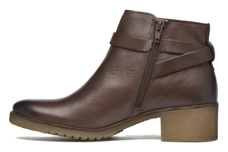 Stiefeletten & Boots Kickers Mila braun ansicht von vorne
