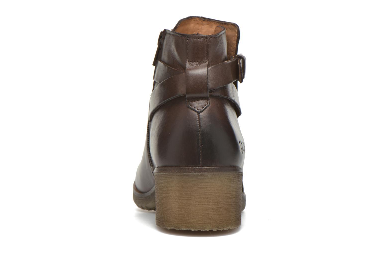 Stiefeletten & Boots Kickers Mila braun ansicht von rechts