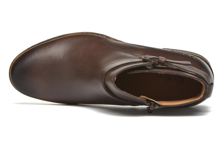 Stiefeletten & Boots Kickers Mila braun ansicht von links