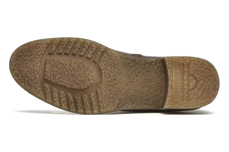 Boots en enkellaarsjes Kickers Mila Bruin boven