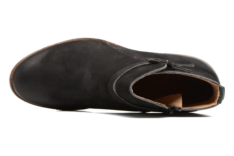 Bottines et boots Kickers Mila Noir vue gauche