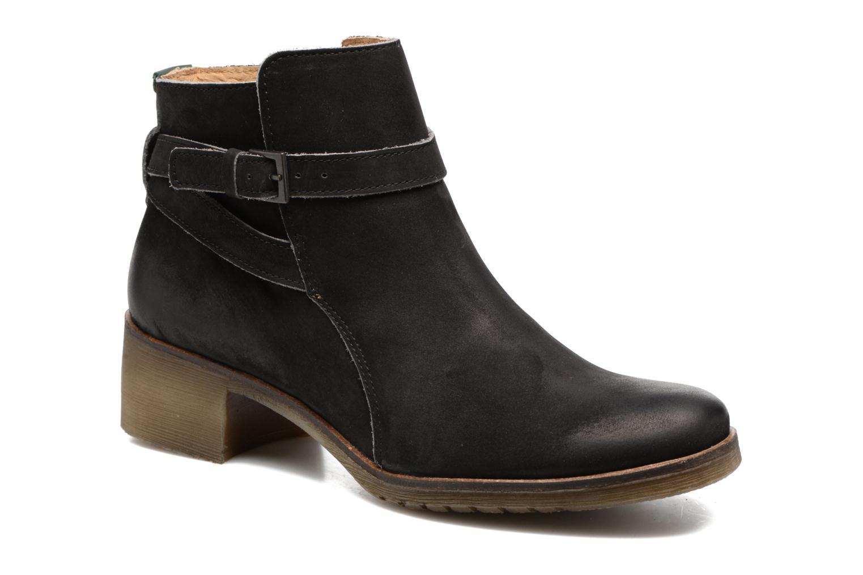 Boots en enkellaarsjes Kickers Mila Zwart detail
