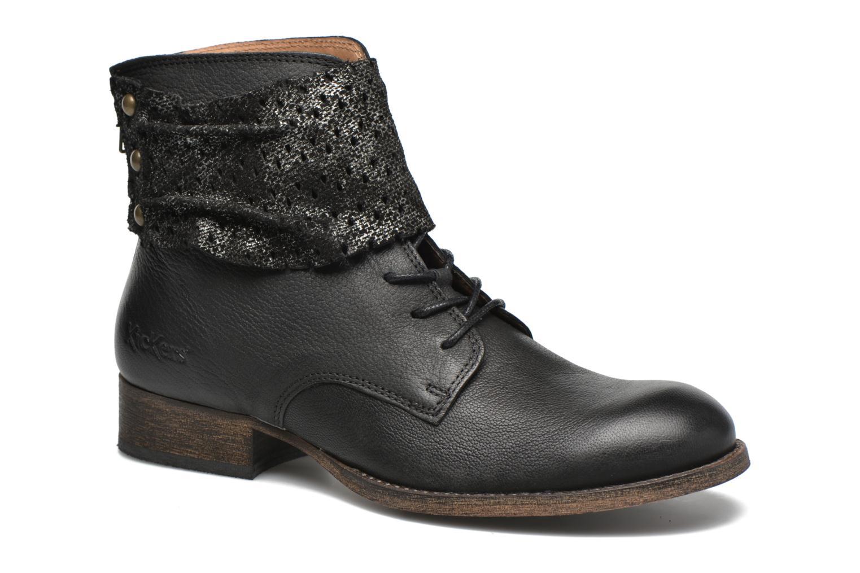 Zapatos promocionales Kickers Punkyzip (Negro) - Botines    Gran descuento