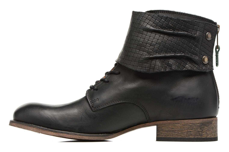 Stiefeletten & Boots Kickers Punkyzip schwarz ansicht von vorne