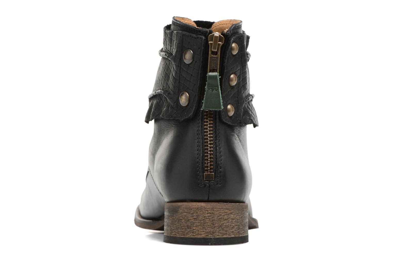 Stiefeletten & Boots Kickers Punkyzip schwarz ansicht von rechts