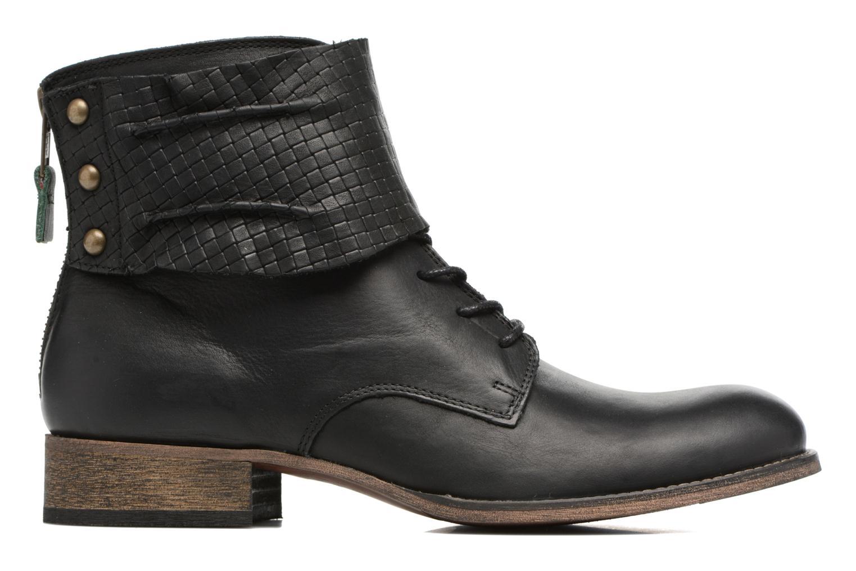 Bottines et boots Kickers Punkyzip Noir vue derrière