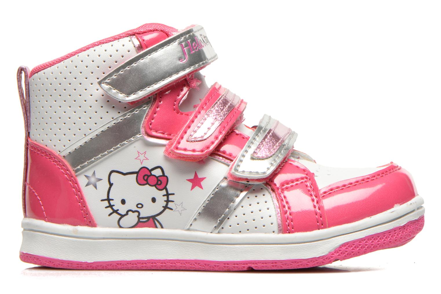 Baskets Hello Kitty HK Leonora Blanc vue derrière