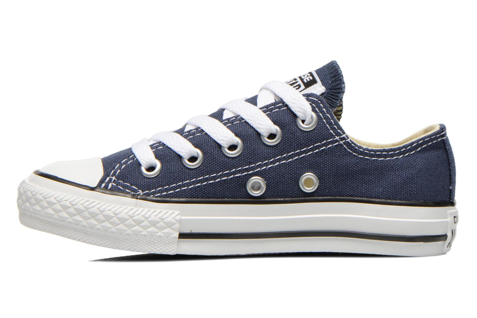 Sneakers Converse Chuck Taylor All Star Core Ox Blauw voorkant