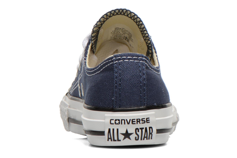 Sneakers Converse Chuck Taylor All Star Core Ox Blå Bild från höger sidan