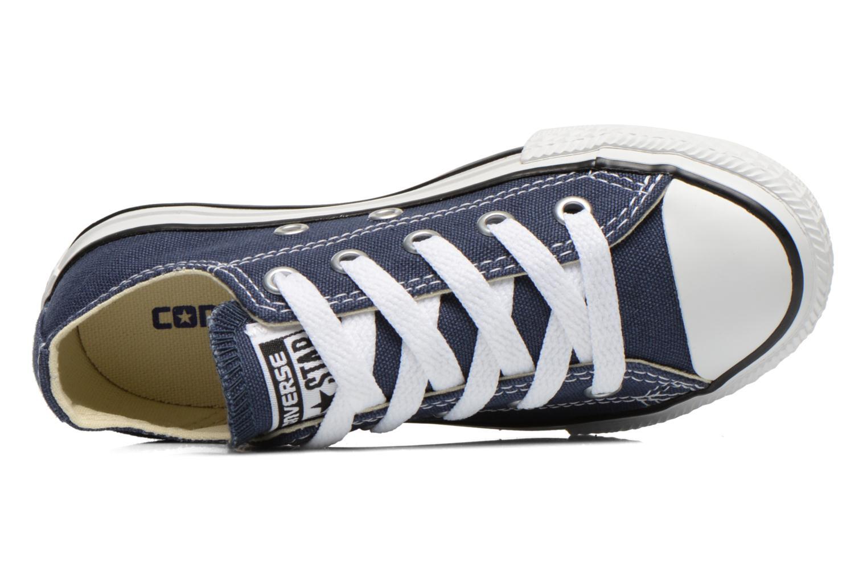 Baskets Converse Chuck Taylor All Star Core Ox Bleu vue gauche